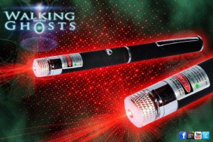 Red 650 nm Laser Matrix Grid Pen Projector Ghost Hunt Paranormal Tool/UK